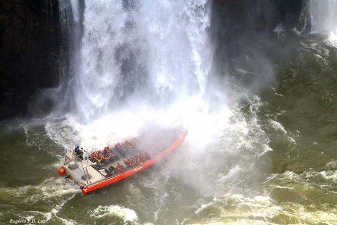 Transfer IN IGU & Iguassu Falls Brazilian side & Macuco Boat Safari