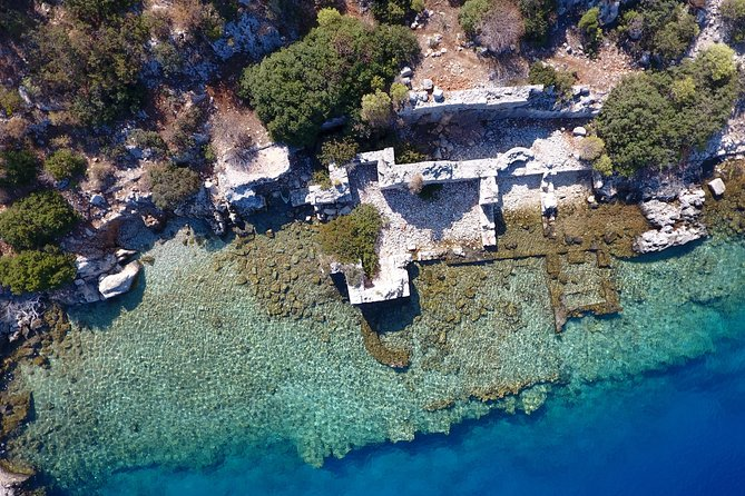 Shared Sunken City of Kekova Boat Tour including lunch photo 1