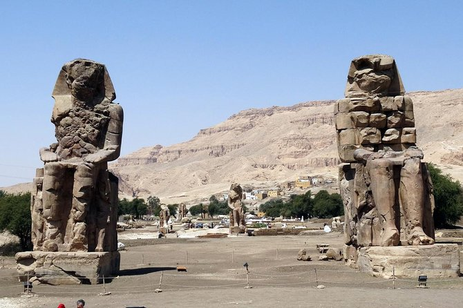 The two statues of of Memnon