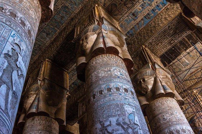 Dendara and Abydos Temples.
