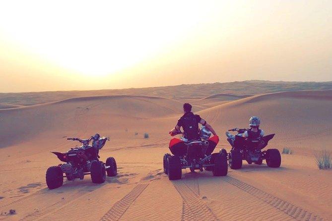 1 Hour Self Drive Quad Biking Tour At Red Dunes Dubai