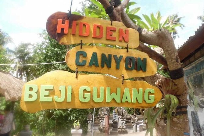 Guwang Hidden Canyon And Tegenungan Waterfall