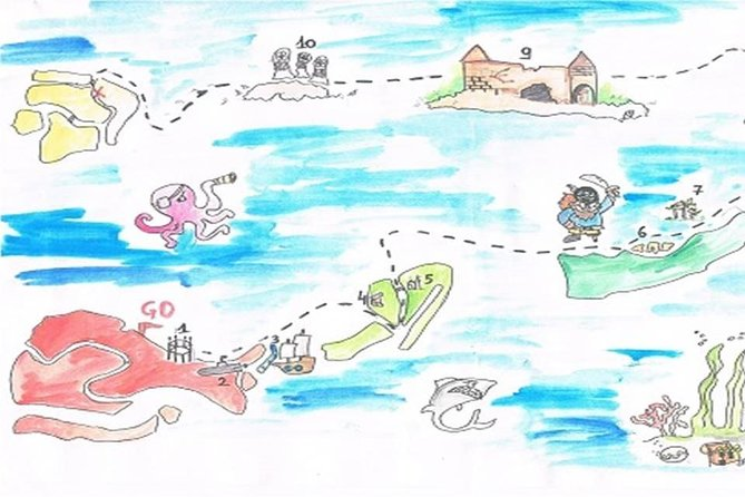 Lagoon treasure hunt