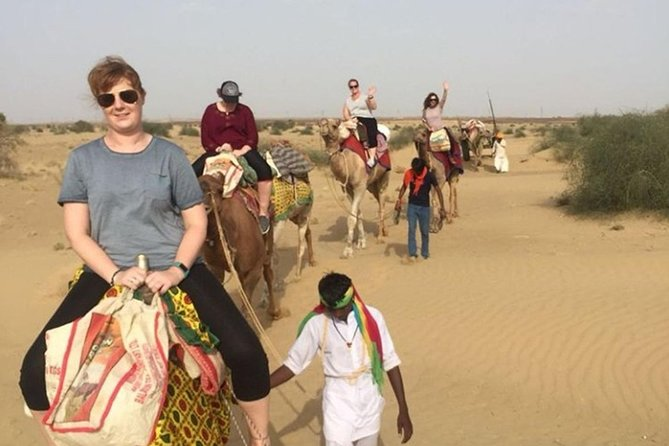 An Non Touristic Half Day Camel Safari photo 3