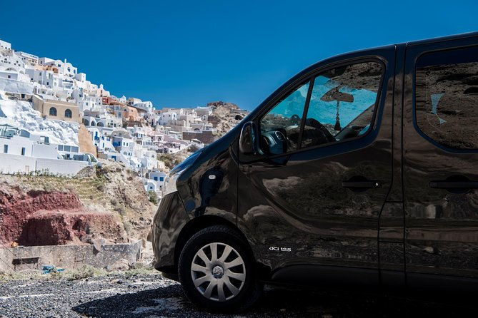 Private Transfer from-to Santorini airport to-from anywhere in Santorini Island