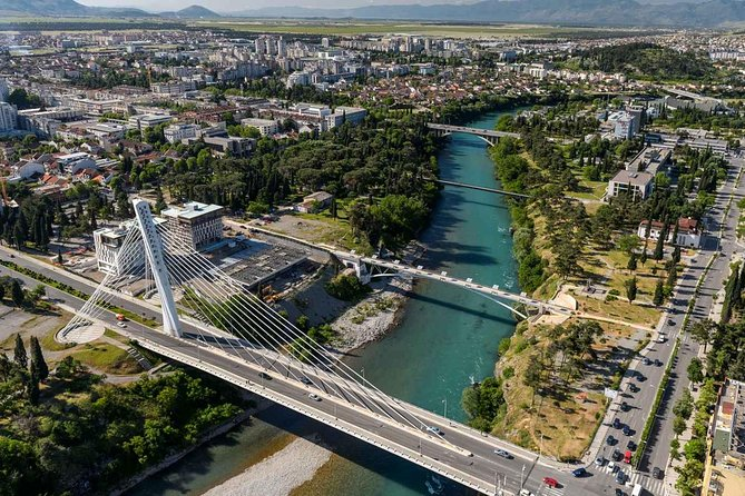 Budva to Podgorica one way transfer