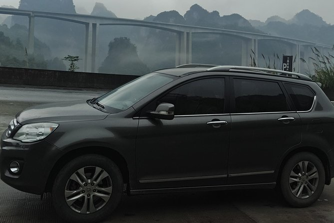 Private Transfer from Fenghuang to Guilin and stops at Longji Terraces