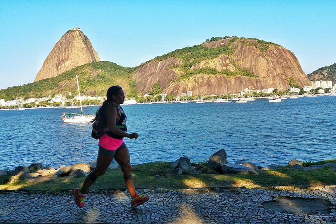 Running across Flamengo Park to the Sugar Loaf photo 1