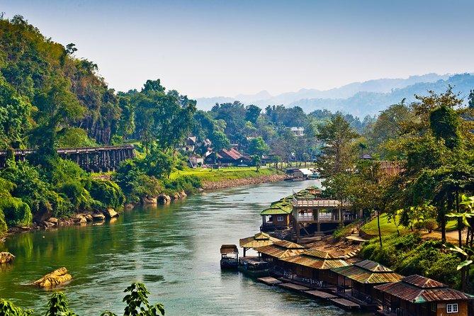 3-Day River Kwai Tour From Bangkok: Jungle Rafts, Floating Market, & Ayutthaya,
