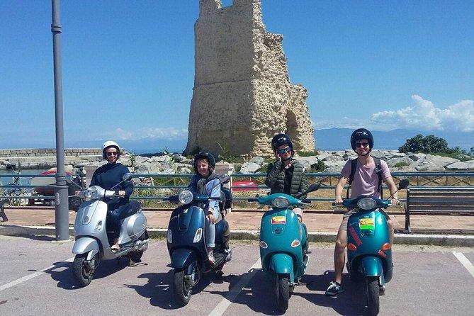 City tour in Vibo Valentia on a Vespa