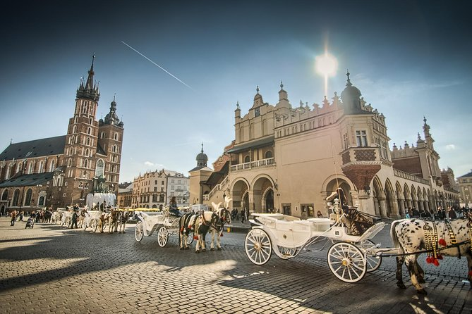 Private transfer from Prague to Krakow