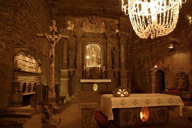 Wieliczka Salt Mine tour from Krakow with private driver