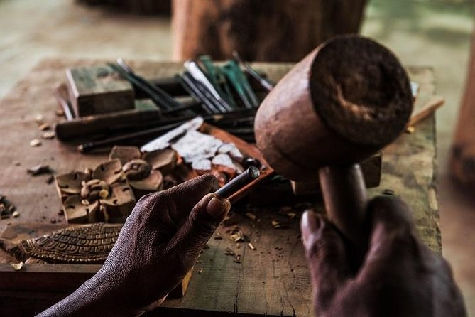 Wood Carving with a Master Craftsman