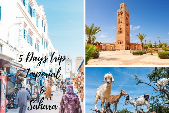 Imperial & sahara Desert Tour In 5 Days From Agadir