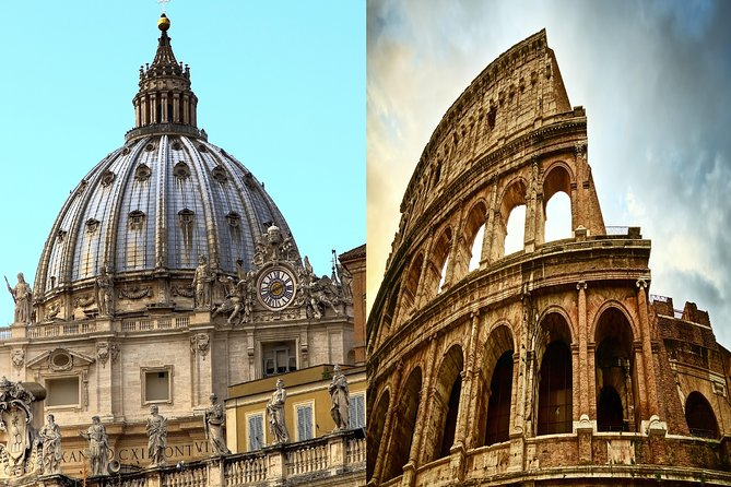 1 Day Skip-The-Line Morning Vatican & Afternoon Colosseum Small Group Tours