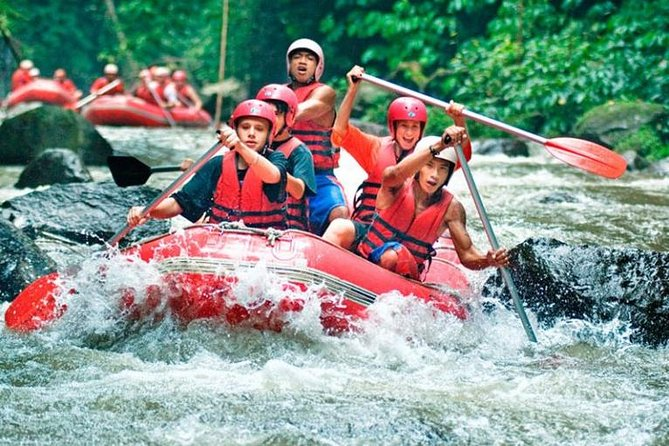 White Water Rafting Including Transportation and Lunch Kuta,Seminyak,Legian Area