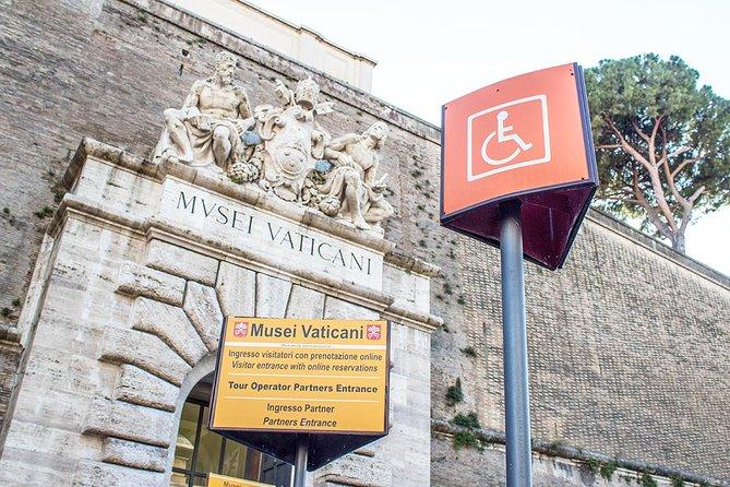 Rollstuhlgerechte Vatikan-Tour mit Tickets ohne Anstehen und Sixtinische Kapelle