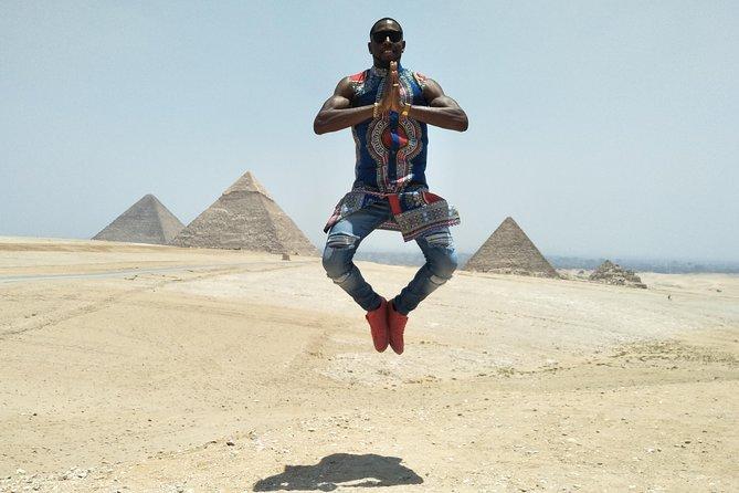 Half day Giza pyramids & sphinx with 30 min camel ride