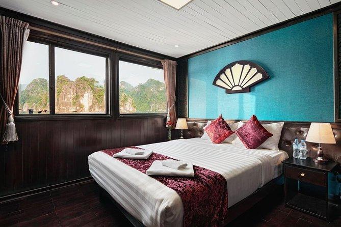 3 Tage - 2 Nächte auf großen Halong Buchtkreuzfahrten mit vielen Optionen und Inklusivleistungen