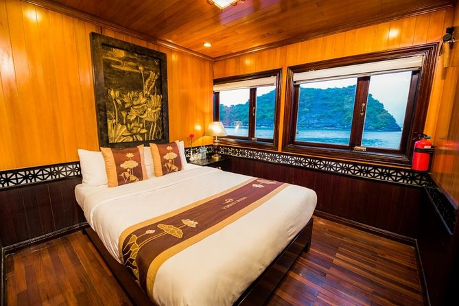 3 days - 2 nights with V'Spirit Cruise: Hiking titop island,visit Sung Sot cave, Drum cave, Fairy Cave, Pearl farm