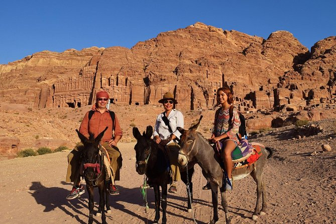 Day Tour To Petra Transfers Only From Amman