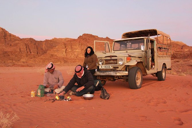 Two Days Tour: Dead Sea, Wadi Rum, Petra, starting and ending in Amman