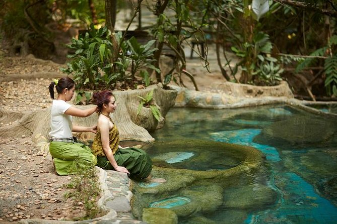 Jungle Hot Spring Spa Day (Krabi, Kinaree Long Song)