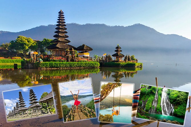Private Tour : Ulun Danu Beratan Temple - Instagram spot - Waterfall