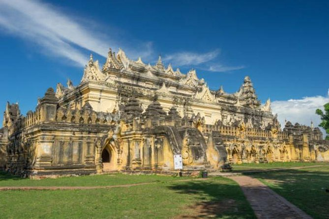Private Guided Full Day Amarapura, Ava, Sagaing Tours with Pickup