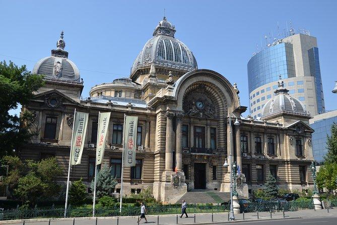 Walking tour of Bucharest