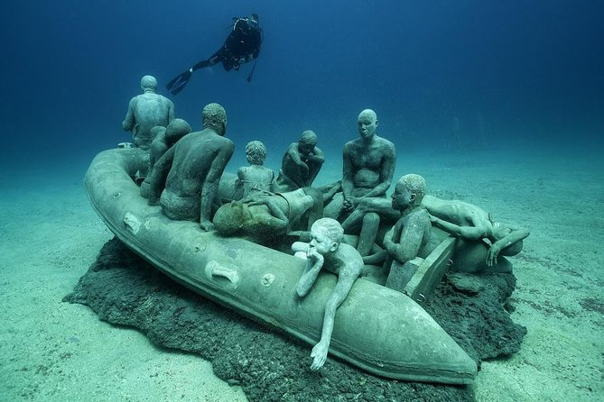 Museo Atlantico Diving Tour from Playa Blanca