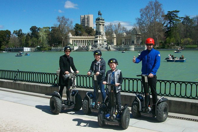Madrid Private Segway Tour Retiro 1h, 1,5h or 2h