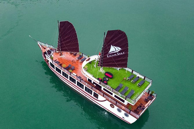 Escape Sails - Luxury Halong Bay - Lan Ha Bay Day Cruise with 8-hour Itinerary