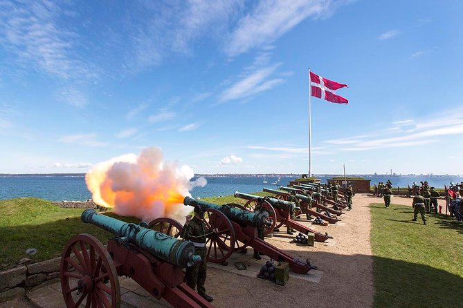 The Cannons at Hamlet's Kronborg