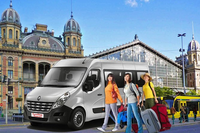 Private Budapest - Vienna transfer with 2 hours stop in Bratislava
