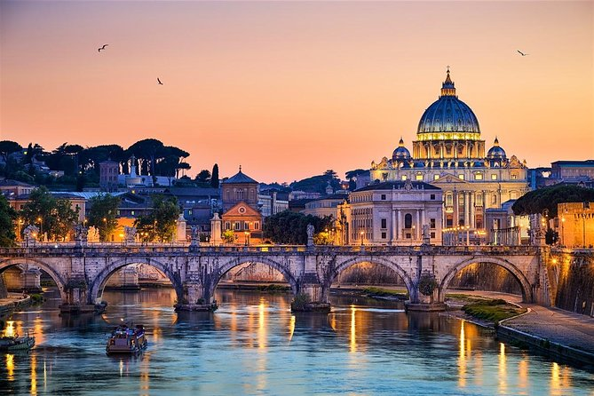 Rome by Yourself with English Chauffeur - Business Car