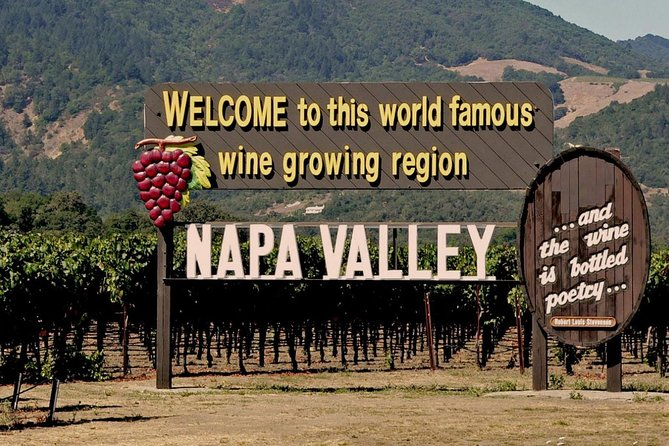 Explore Napa Valley Wine Tour from San Francisco by Private Minivan