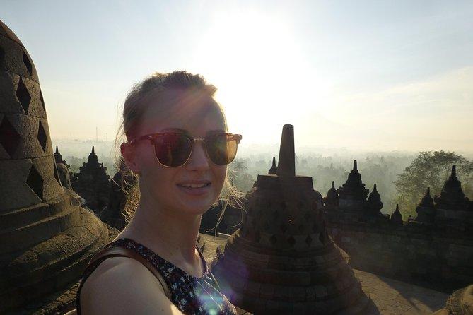 Spectacular Borobudur Sunrise from Yogyakarta