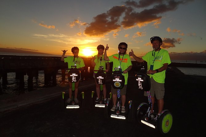 Segway PT Sunset Tour from Lahaina