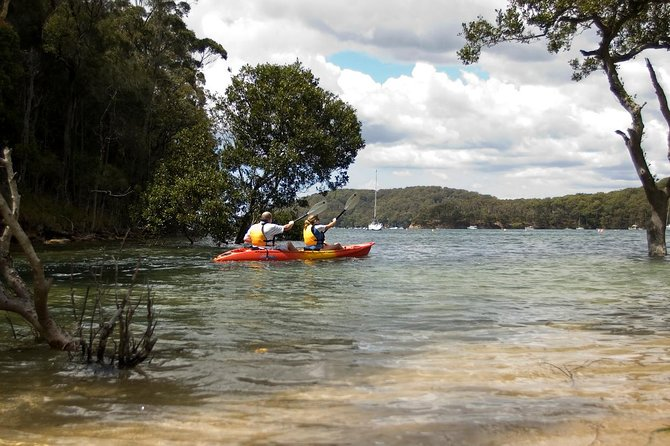 Sydney Double Kayak Hire on Pittwater - (2) Hours on Sit on Top or Sit in Kayak