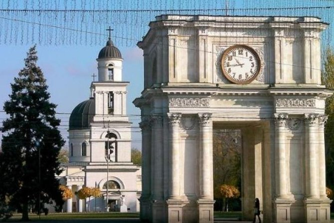 City Tour Chisinau and Old Orhei and Curchi Monastery