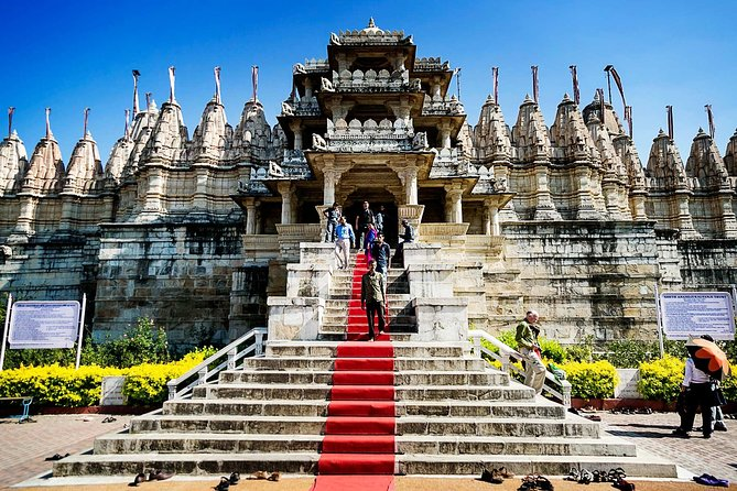 Ranakpur Jain Temple Skip-The-Line E-Tickets & Transfers w/ Optional Add ons