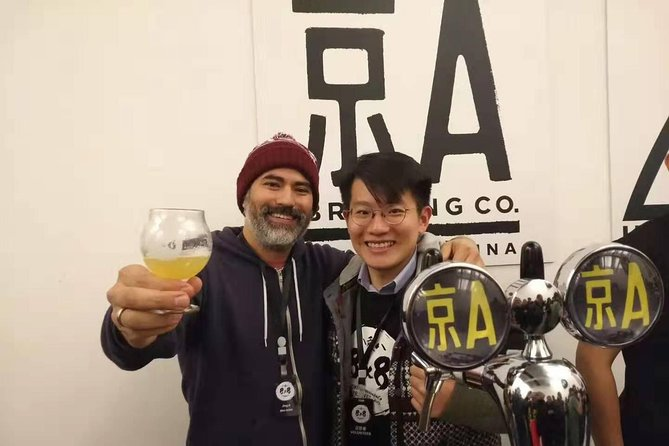 Beijing Private Night Food Tour with Jing A Brewpub Hopping