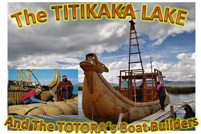 LA PAZ - BOLIVIA ( Titikaka Lake and the Totora Boat Builders )