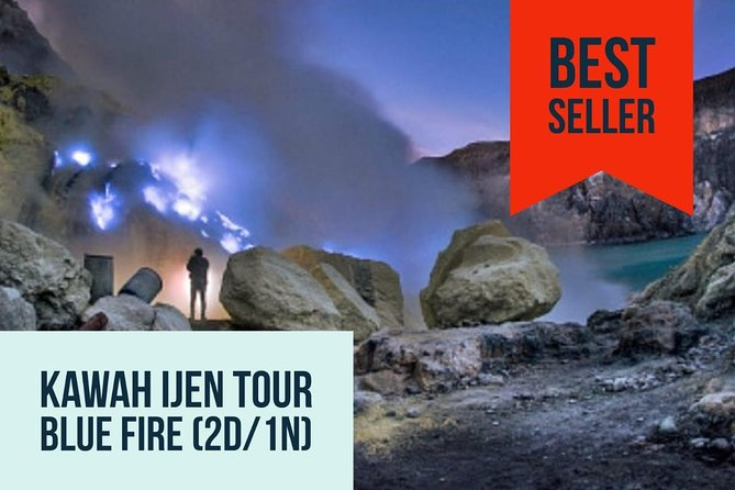 Kawah Ijen By Night - Blue Flame Tour