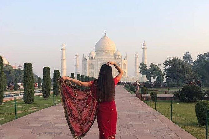 Same Day Taj Mahal and Agra Fort Tour by Car From Delhi
