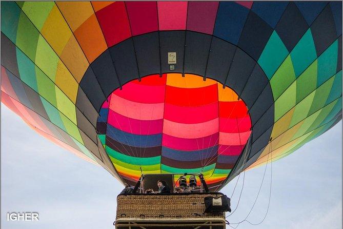 Milan weekend afternoon hot air balloon flight