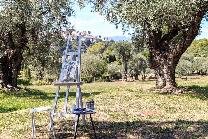 Creative wander in Renoir's Garden