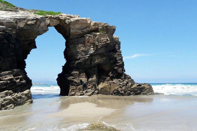 Playa De Las Catedrales Y Ribadeo Desde Lugo