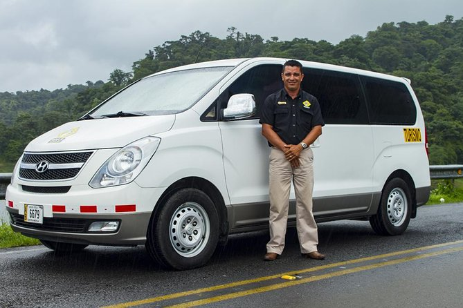Private Transfer Juan Santamaria Airport To La Fortuna From 1 to 6 passengers